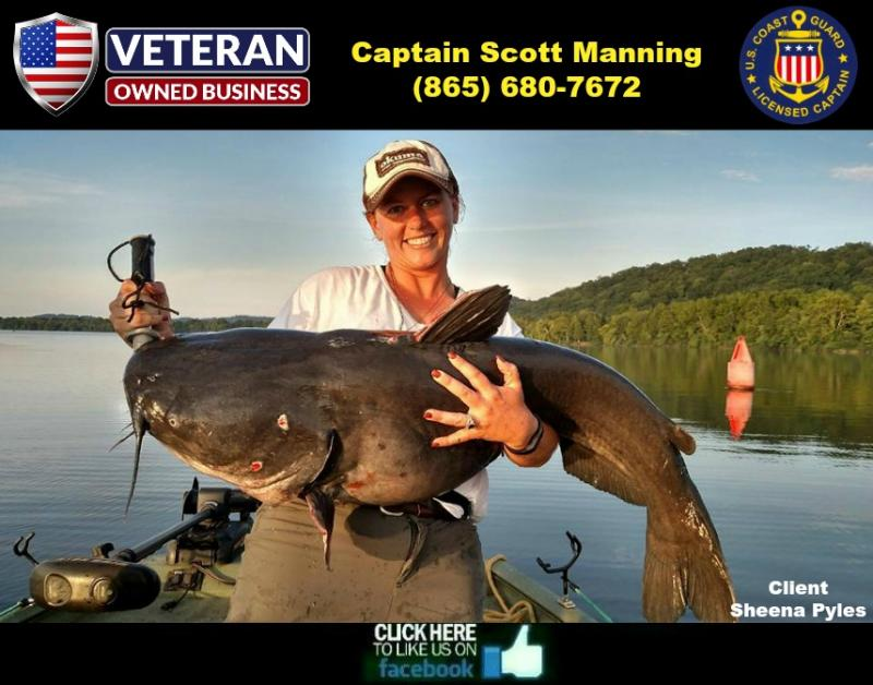 Tennessee striper and catfish guide 2016 ratesmake sure for Tennessee fishing license prices